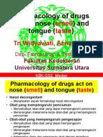 SSS II_K26_THT_Pharmacology of Drugs Action on Smell Dan Taste