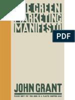 The Green Marketing Manifesto John Grant 2007