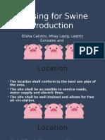 Housing for Swine Production