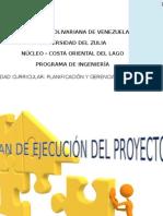 Plan de Ejecución Del Proyecto
