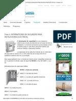 Tema 6. Interruptores de Seguridad Para Instalaciones Eléctricas. _ Civilgeeks