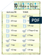 How to Halve a Recipe_Gooseberry Patch