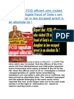 Report that FCID officers who visited US to investigate fraud of Gota.docx