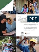 """Terceiro """"Relatório Global sobre Aprendizagem e Educação de Adultos"""" (Global Report on Adult Learning and Education – GRALE III)"""