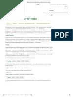 Excel Very Hidden Sheet