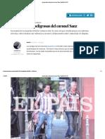 Las Amistades Peligrosas Del Coronel Sanz _ España _ EL PAÍS