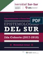 2da Cohorte Curso y Especializacion Epistemologias Del Sur