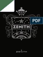 ZENITH watch Catalogue 2012