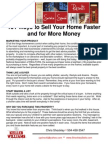 101 Tips to Sell Faster and for More Money