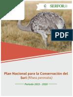 Plan Nacional Conservacion Suri