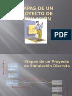 Etapas de Un Proyecto de Simulacion