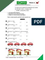 Comper-Matematica Clasa1 Etapa1 2015-2016