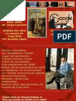 Presentation Sobre La Muerte de Ivan Ilich