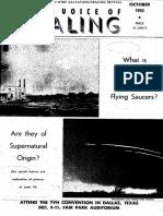 1952 October  VOICE OF HEALING MAGAZINE