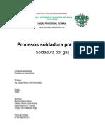 Soldadura Por Gas
