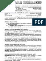 CONTRATO DE PRESTACIÓN DE SERVICIOS (OUTSOURCING)
