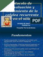 Cefalea. Protocolo.ppt