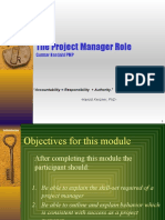 PM2 the Project Manager Role