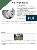 Biografía de Jorge Isaac