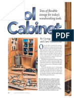 American Wood Worker - Tool Cabinet