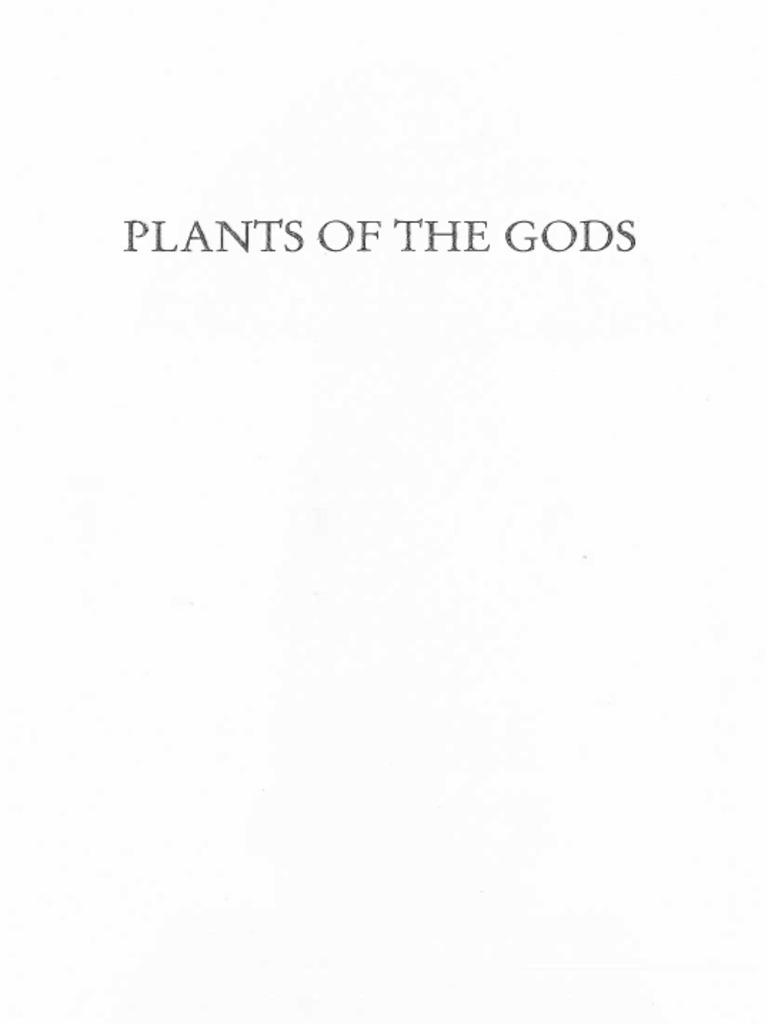 Schultes,Hofmann - Plants of the Gods (Healing Arts, 2001
