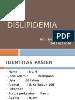Presentasi Kasus DISLIPIDEMIA - Nui