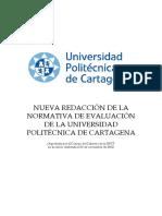 Nueva Redaccion Normativa Evaluacion UPCT-1