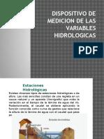 Dispositivo de Medicion de Las Variables Hidrologicas