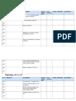Unterrichtsplanung 09.11 - 10.11 - A-102