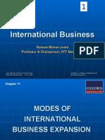 International Business Rakesh MOhan