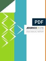 Advance CTE 2016 Annual Report