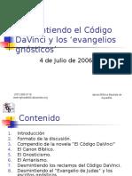 Desmintiendo El Codigo Davinci