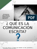 Comunicacion Escrita