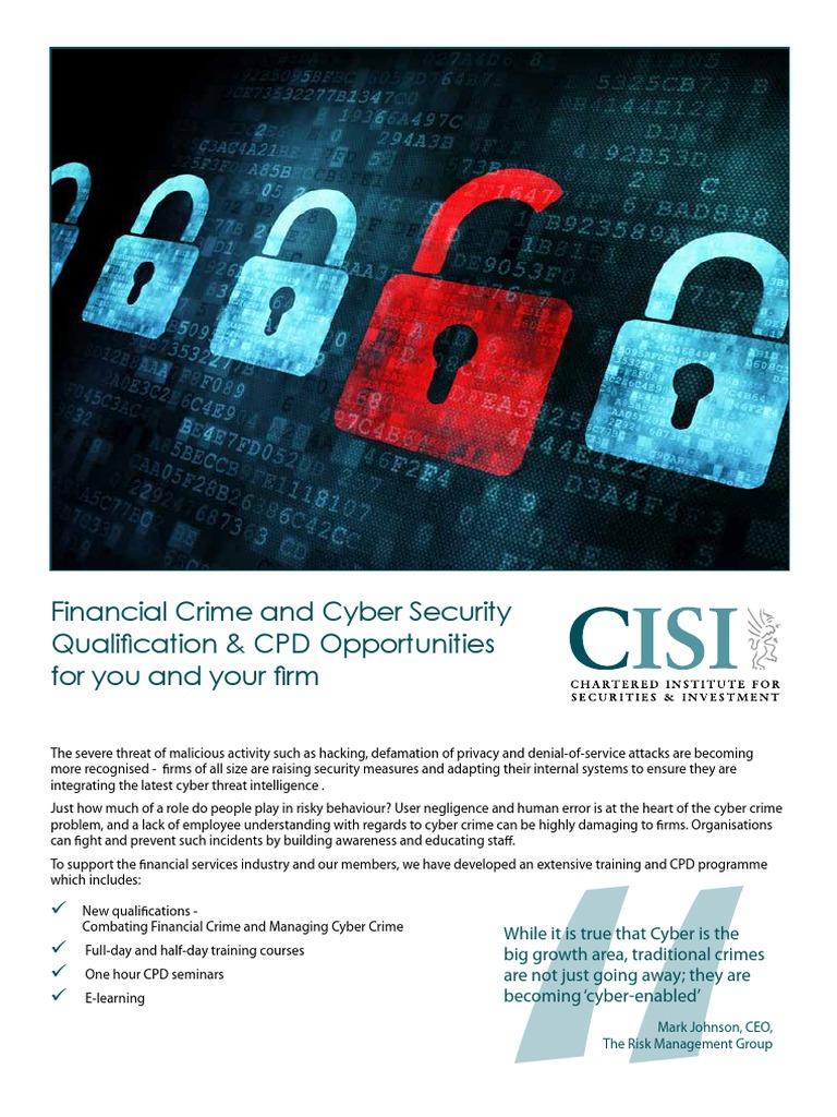 cyber crime v tradition crime