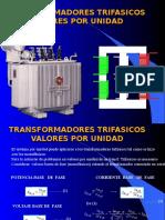 Transformadores Trifasicos Valores Por Unidad
