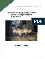 Informe Mensual SST ENERO 2017
