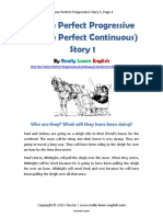 Future Perfect Progressive Story 1 Rocio2