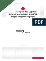 Módulo 7 Logistica Suprimentos Lei 8666