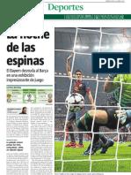 Crónica LV del 4-0 del Bayern de Múnich al Barça (24-4-13)
