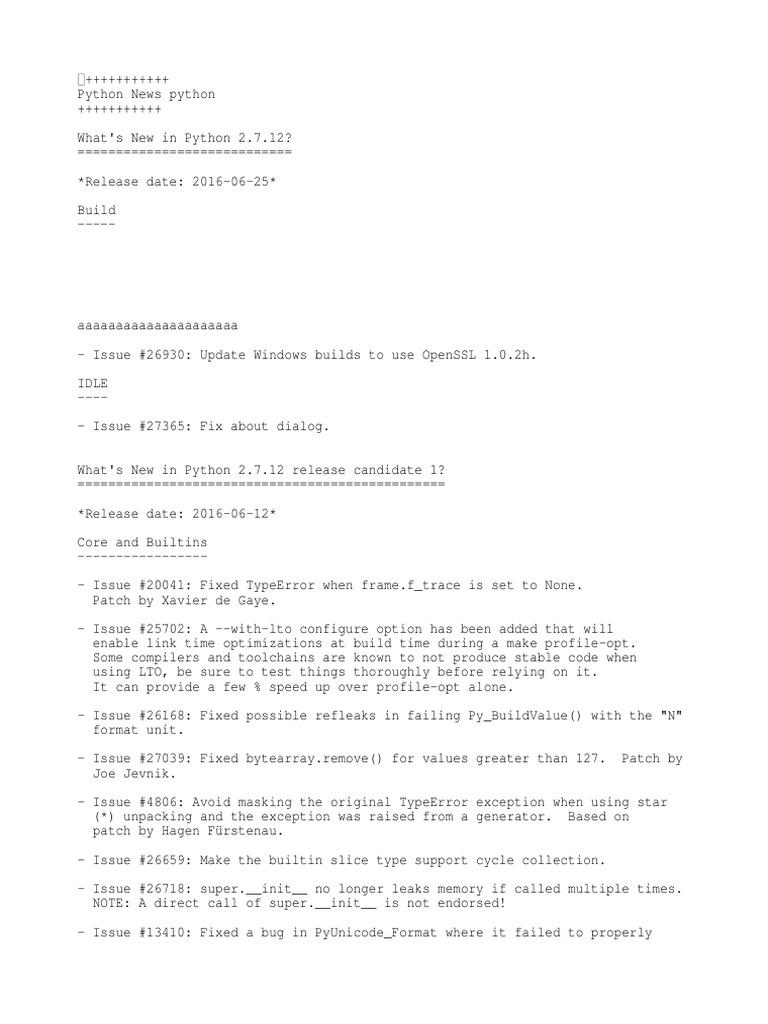 News | Transport Layer Security | C (Programming Language)