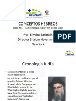 Conceptos Hebreos 51- Cronologia Judia