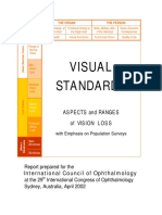 Visual Standards Report