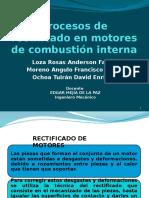 Procesos de Rectificados en Motores