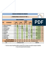 Planilha ReforMAIS Cronograma Físico Financeiro