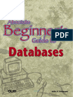 John Petersen-Absolute Beginner s Guide to Databases-QUE (2002)