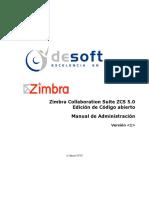 Manual de Administración y Configuración ZCS 5.0
