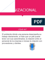 Organizational Climates (In Spanish)