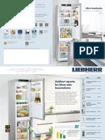 Liebherr Catálogo Frigoríficos y Congeladores 2015
