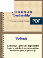 Vodenje Leadershid