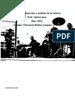 Produccion y Analisis de La Musica